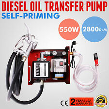 220V Oil Diesel Fluid Extractor Electric Transfer Auto Pump Car trucks Fuel