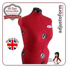 Dress Form Adjustable Mannequin Size 22-26 Dressmakers Dummy Dressmaking Model