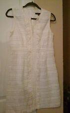 Nanette Lepore Sheath Dress, Ivory, Size 8