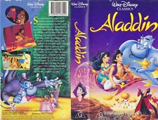 ALADDIN  CLASSIC  WALT DISNEY  VHS VIDEO PAL