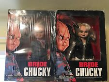 "Dream Rush Set Of Two 12"" dolls Chucky (NEW) and Tiffany (USED) Bride of Chucky!"