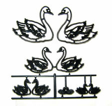 Patchwork Cutters SWAN SET Sugarcraft Cake Decoration Mould Cutting Tool