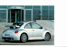 Foto Fotografie photo photograph VW Werksfoto NEW BEETLE RSI 03/2001 SR1016