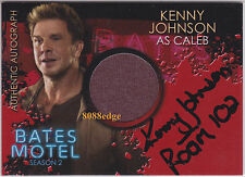 "2016 BATES MOTEL SEASON 2 COSTUME AUTO: KENNY JOHNSON -AUTOGRAPH ""PRIME SUSPECT"""