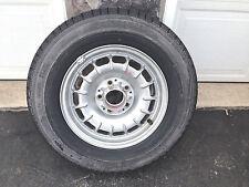 MINT 1984 MERCEDES 300d spare  ALUMINUM BUNDT Wheel TIRE 195/70 R14