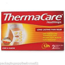 Thermacare Knee and Elbow 12 Hour Heat Wraps, 1-Count Box (Pack of 2) - MS80389