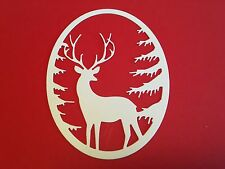 10 x Grand Oval Stag Frame die cuts  **FREE UK POSTAGE**