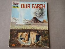 The How and Why Wonder Book of Our Earth 1960 - Free S/H in US