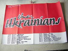 THE UKRAINIANS orig GERMAN TOUR-POSTER A1 84x59 cm