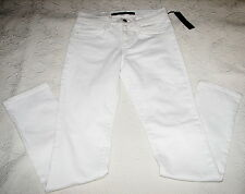 Joe's Jenny White Denim Straight Leg Cigarette Jeans Cotton Blend 24 Retail $178