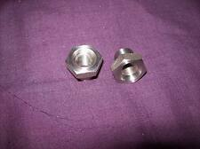 BSA Bantam D1 RIGID stainless steel front wheel nuts