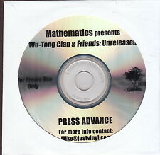wu-tang clan & friends unreleased cd  limited edition