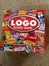 Used But Complete The LOGO Board Game.  One Slight Tear On The Board.  See Pics.