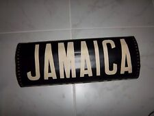 VINTAGE OLD NYC BUS ROLL SIGN JAMAICA 1956 COPPER BACK COLLECTIBLE URBAN ART NY