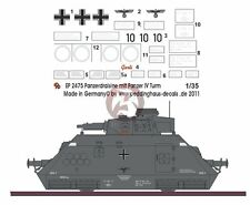 Peddinghaus 1/35 German Artilleriewagen with Panzer IV Turret Markings WWII 2475