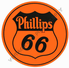 "Phillips 66 6"" Vinyl Decal (DC123B)"
