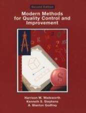 Modern Methods for Quality Control and Improvement by Harrison M., Jr....