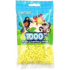 1000 Perler Pastel Yellow Color Iron On Fuse Beads: 80-19056