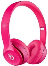 Beats Solo2 Headphones Gloss Pink - Genuine Beats By Dre Retail Boxed 12 Months