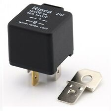 4 Pin Relay 12V 40A With Bracket - Normally Open On/Off Standard Automotive