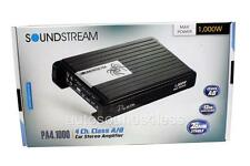 Soundstream PA4.1000 1000 Watts 4-Channel Class A/B Car Audio Amplifier New