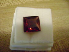 Natural Red Garnet Princess Cut 9mm Wholesale Lot of 1 Stone Ebays Best Deal