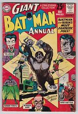 Batman Annual #3 G-VG 3.0 The Joker Two-Face Mad Hatter 1962!