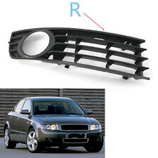 1x Front Lower Side Bumper Fog Light Grille for Audi A4 B6 Sedan 2002-2005 Right