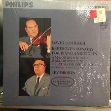 Oistrakh / Oborin Beethoven Sonatas LP Vinyl Philips Stereo PHS900-032 RARE
