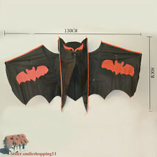 "50"" X 30"" Vampire Bat Flying Kite Triangle Kids Toy Gift Outddoor Fun Sports"
