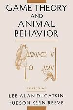 Game Theory and Animal Behavior (2000, Paperback)