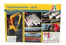 Italeri 3854 Truck Accessories Set 2 1/24 New Truck Parts Model Kit