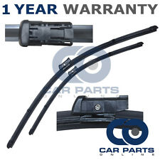 """FOR VOLVO S60 MK2 2009- DIRECT FIT FRONT AERO WINDOW WIPER BLADES PAIR 26"""" + 20"""""""