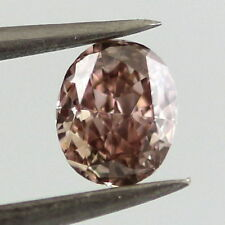 0.52ct Natural Loose Fancy Brown Pink Diamond 100% All Natural Oval
