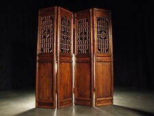 Antique Chinese Folding Screen Antique Wood Divider