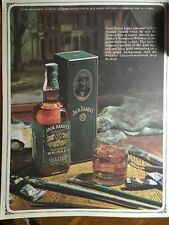 Vintage Jack Daniels Green Label Carton 4/5th Qt File Promo Photo - Rich