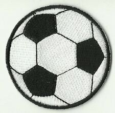 écusson ECUSSON PATCHE THERMOCOLLANT BALLON FOOT FOOTBALL DIAMETRE 5,5 CM