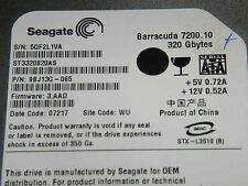 320 GB Seagate ST3320820AS / 9BJ13G-065 / 3.AAD / WU - disque dur / Festplatte