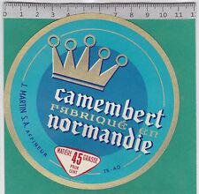 J273 FROMAGE CAMEMBERT J. MARTIN NORMANDIE