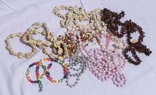 Vintage Lot of 9 Costume Jewelry Necklaces 1950's-1990's jds