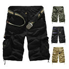 Men Military Army Combat Trousers Tactical Camo Pants Cargo Shorts Eyeable