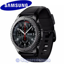 (**IN STOCK*) Samsung Galaxy Gear S3 Frontier Black SM-R760 Bluetooth Smartwatch