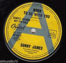 SONNY JAMES Born To Be With You / In Waikiki 45 - A Label Promo