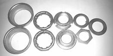 Old School BMX One Piece Crank 9 Piece Bottom Bracket Set Cup and Bearings