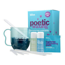 1 PC Bliss Poetic Waxing At-Home Hair Removal Kit Set (Wax+Cleanser etc)#14392