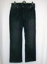 elegante Damen Jeans schwarz von TWISTER mit Glitzersteinen Gr. 44 NEU