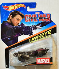 HOT WHEELS MARVEL HAWKEYE #9 CIVIL WAR