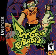 Jet Grind Radio - Dreamcast Game