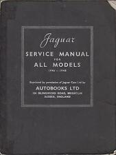 JAGUAR MKIV MK4 1.5 2.5 & 3.5 LITRE SALOON & DHC 1946-48 FACTORY WORKSHOP MANUAL