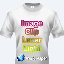 IMAGE CLIP Laser Light Self-Weeding Heat Transfer Paper - 11 x 17 - 10 Sheets